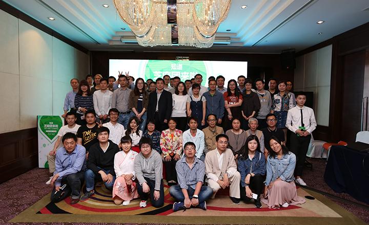 【上海】60名团友们从四面八方汇聚上海,一同参加团队盛会,相识相知。